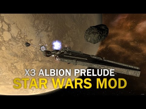 X3AP Star Wars Mod (Rebel Alliance) - Episode 13 Searching For Abandoned Ships!