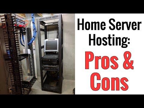 Home Server Hosting - Pros & Cons