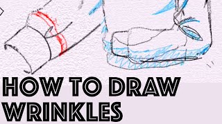 How to draw SHIRT/SWEATER WRINKLES Tutorial by Japanese Veteran Animator HINOE|ひのえさんのフリルの描き方