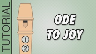 Video How to play Ode to Joy on the Recorder - Easy Tutorial download MP3, 3GP, MP4, WEBM, AVI, FLV Oktober 2018