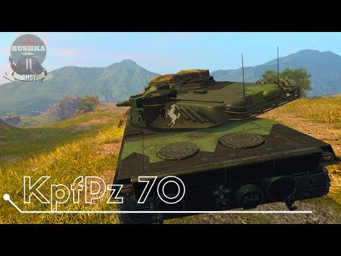 The KpfPz 70 in Depth Review World of Tanks Blitz
