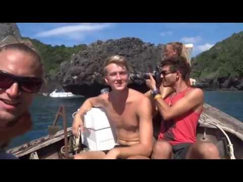 Phi Phi Island, Trip Nui Bay, Thailand, Thai beach, Holiday in Thailand