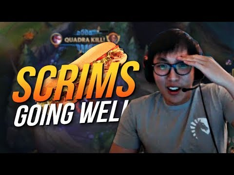 Doublelift - SCRIMS GOING WELL