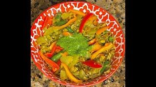 Ramen Chutney Noodles with Vegetables