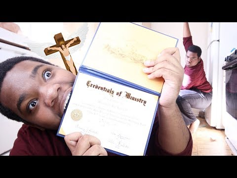 I BECAME AN ORDAINED MINISTER FOR THE GAYS