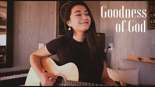 GOODNESS OF GOD // Bethel - Jenn Johnson (worship cover)