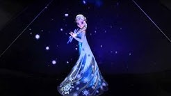 Elsa Frozen hologram - HOLOBOX