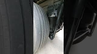 현대 메가5톤 에어서스펜션 차고조절 시스템