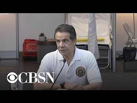 Cuomo praises National Guard for coronavirus
