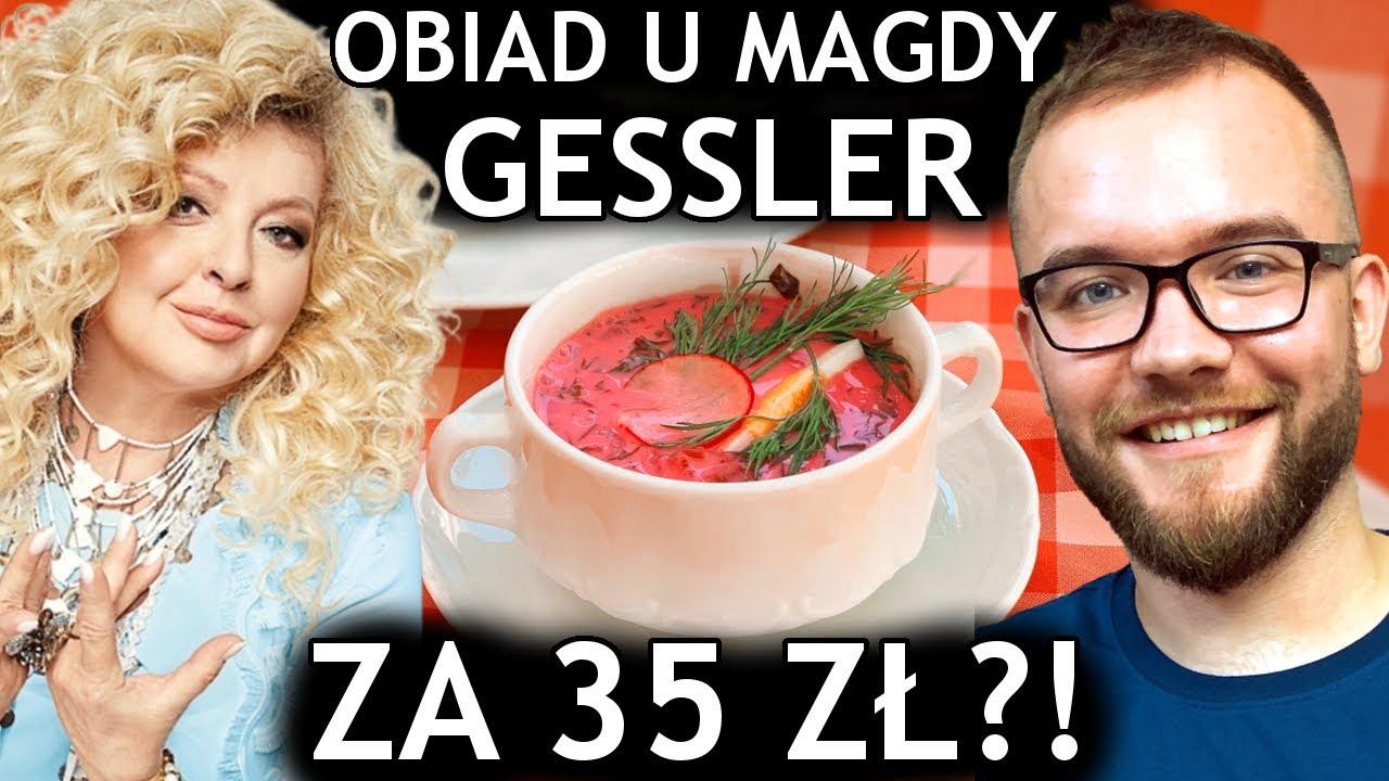 Restauracja Magdy Gessler: 3-daniowy obiad za 35 zł?! Magda Gessler i lunche U Fukiera | GASTRO VLOG