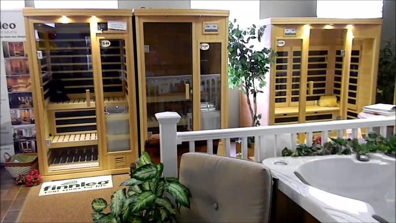 Sauna Showroom At PDC SPA & Pool World Lehighton, PA. Serving Lehigh ...