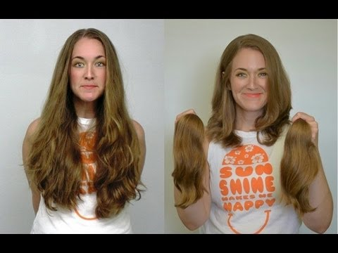 Long HairCut for LOCKS of LOVE
