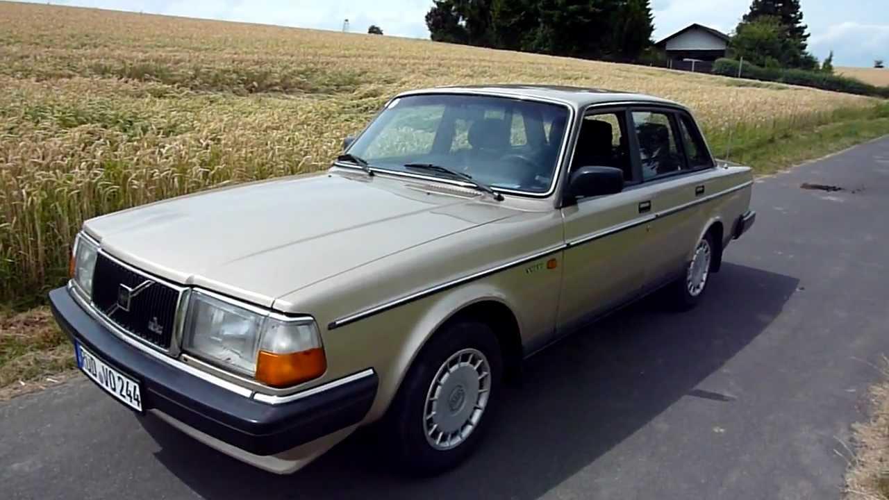 1989 Volvo 240 Gl Youtube