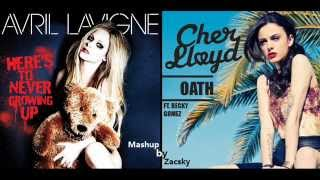 Oath To Never Growing Up - Avril Lavigne & Cher Lloyd ft. Becky G (Audio)