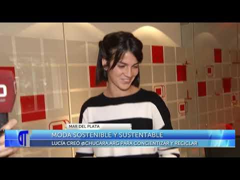 Moda sostenible y sustentable: Lucía creó Chúcara para concientizar y reciclar