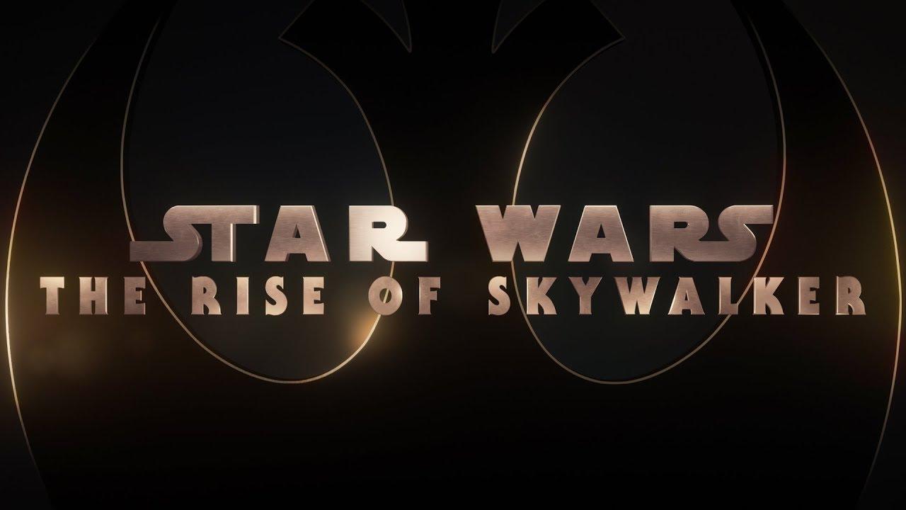 Star Wars The Rise Of Skywalker Title Card Avengers Endgame Style Youtube