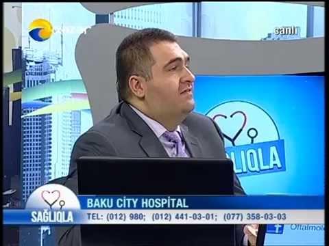 Baku City Hospital Göz mərkəzi Dr Ergün Rəşidəlizadə Mirvari suyu və katarakta