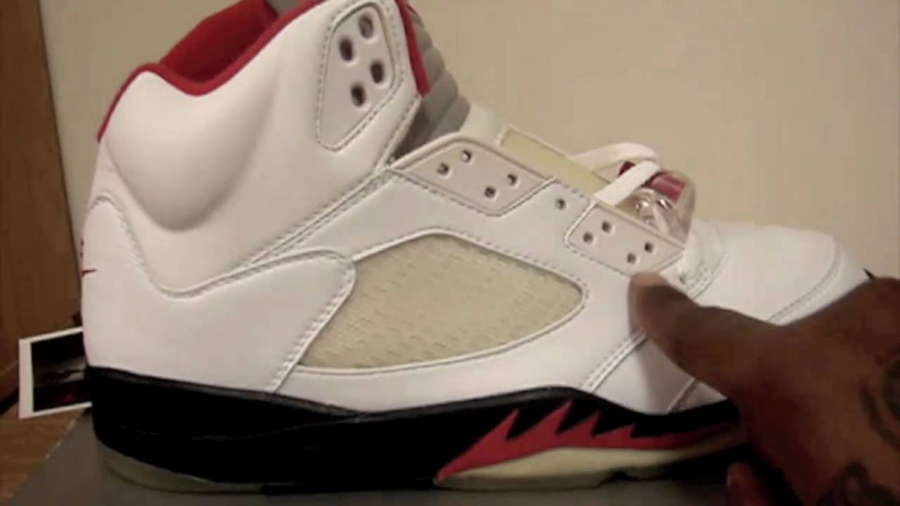 c24454915a41 Yungdrseuss-2000 Nike Air Jordan Fire Red V 5 Retro - YouTube