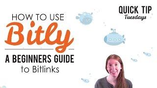 Hoe te Gebruiken Bitly, Beginners Guide to Bitlinks