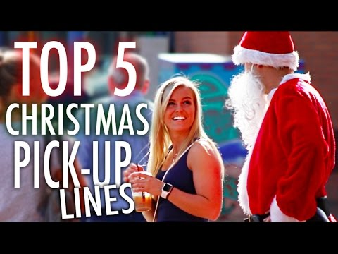 top 5 christmas pick up lines
