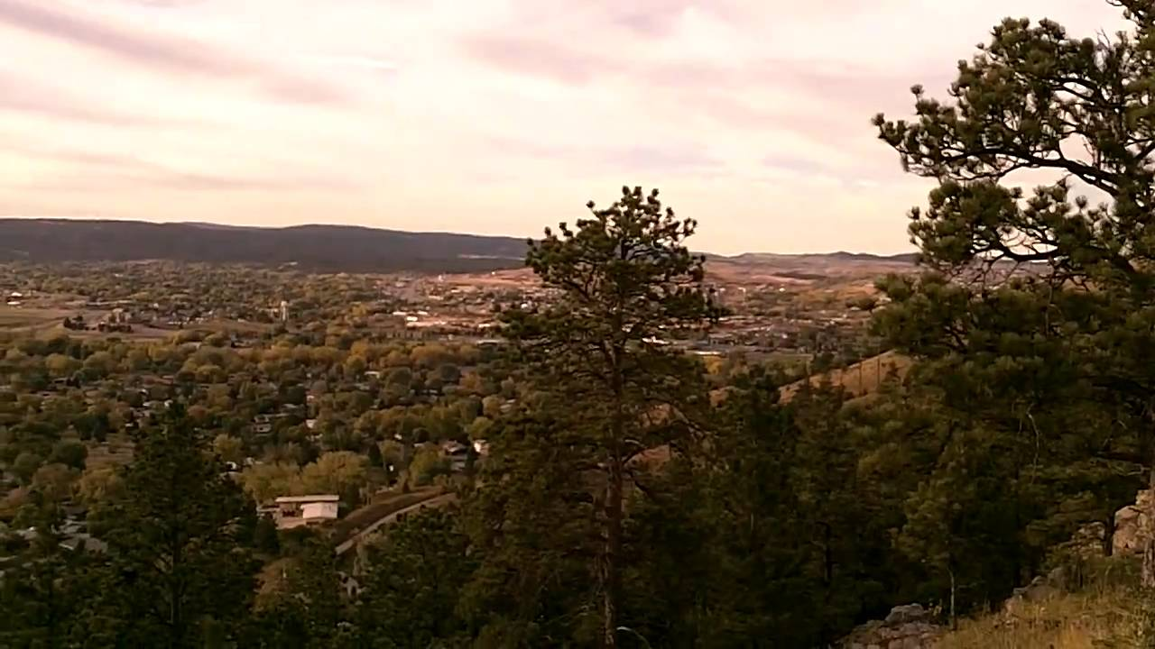 View From Skyline Drive Rapid City Sd Youtube