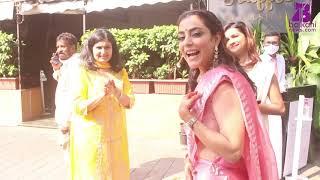 Kajal Aggarwal Spotted At Her Mehendi Ceremony|| Balkani news English ||