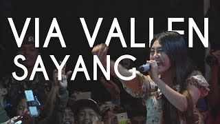 VIA VALLEN - Sayang | HIGH QUALITY (Audio & Video) | By EVIO MULTIMEDIA