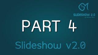 Slideshow v2.0 - Part 4 ( HTML , CSS , JAVASCRIPT )