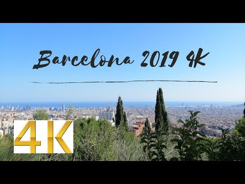 Barcelona in 4K Rainbow Leiria trip 2019