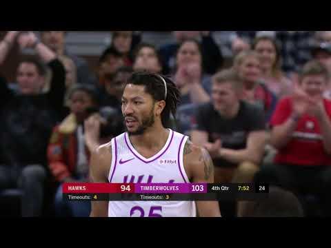 Atlanta Hawks vs Minnesota Timberwolves | December 28, 2018