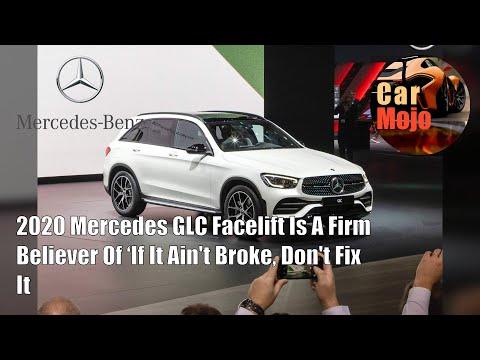 2020 Mercedes GLC Facelift Is A Firm Believer Of 'If It Ain't Broke, Don't Fix It | CarMojo