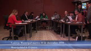 Concejo Municipal 10 de diciembre 2019 [parte 1]