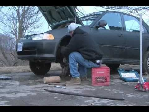 How To Lift A Honda Civic In 4 Minutes