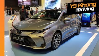 Singapore Motorshow 2020: Toyota Corolla Altis 1.6V and 1.8V Hybrid [Walkaround Review]