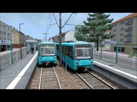 #21 [Train Simulator] U-Bahn Frankfurt #01 |Game Scenarios|