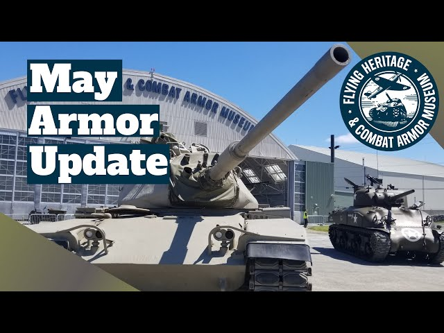 May Armor Update