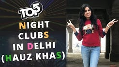 Best Nightclubs in Delhi HAUZ KHAS (Top5) | Hauz Khas Nightlife | Hauz Khas Village Club