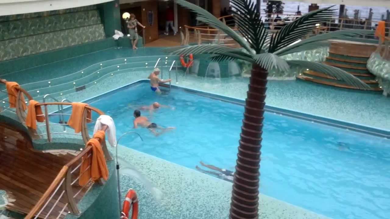 Swimmingpool Youtube #mscfantasia #swimmingpool #jaccuzi #deck 14 - Youtube