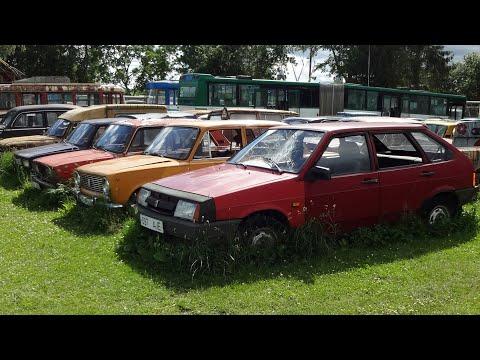Заброшенные советские машины