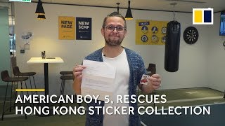 Kid helps SCMP reporter complete World Cup sticker album from 7,000 miles away