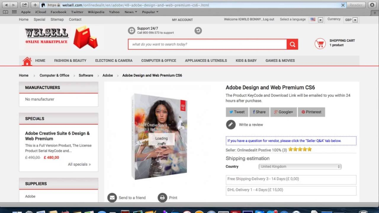 Adobe Cs6 Design And Web Premium Youtube