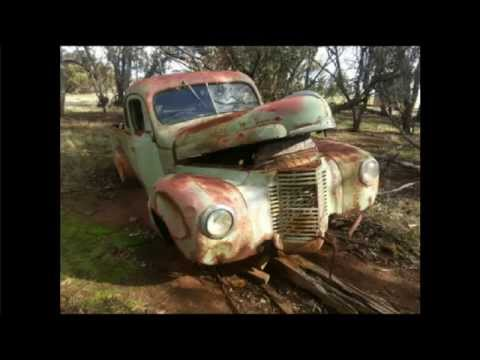Old Rusty Abandoned Cars - Scenes of the Great Southern, Western Australia