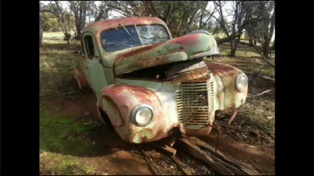Old Rusty Abandoned Cars - Scenes of the Great Southern, Western ...
