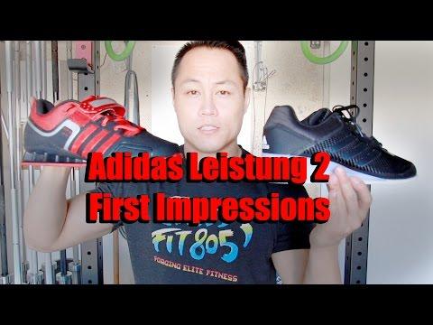 Ejército Máxima préstamo  Adidas Leistung 2 WL Shoe First Impressions - YouTube