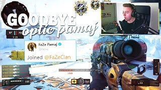 Reacting To Pamaj Leaving OpTic For FaZe