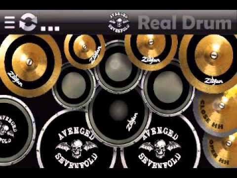 Real Drum Bropton Cocktail A7x Youtube