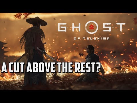 Ghost of Tsushima | PS4Pro E32018 - Gameplay Analysis