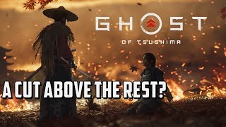 Ghost of Tsushima | PS4Pro E32018 - Gameplay Analysis