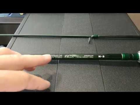 Видеообзор отличного бюджетного спиннинга Black Hole Taipan 240 по заказу Fmagazin