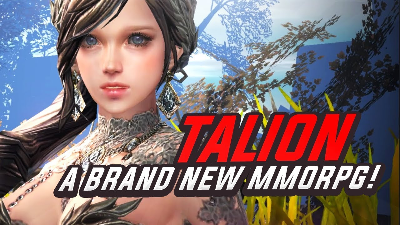 TALION - A Brand New MMORPG! 2019 First Impressions